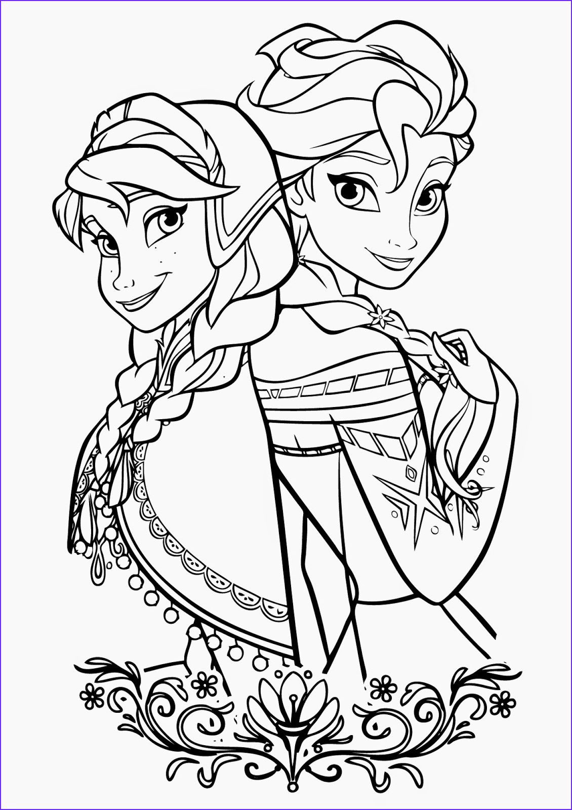 Coloring Coloring New Stock Free Printable Elsa Coloring Pages for Kids Best