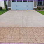 Coloring Concrete Driveways Awesome Photography Stamped Concrete Driveway