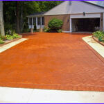Coloring Concrete Driveways Beautiful Photos Colored And Stained Concrete Applications