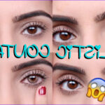 Coloring Contacts Awesome Photos Coloured Contacts For Dark Eyes