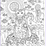 Coloring Creative New Photography Creative Cats Coloring Page Dover
