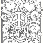 Coloring Designs For Adults Beautiful Collection Item Hippie Coloring Design The Word Artwork