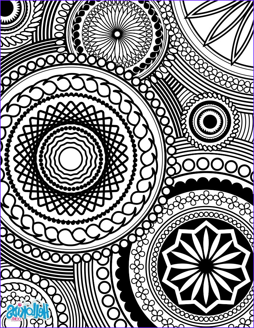adult coloring design