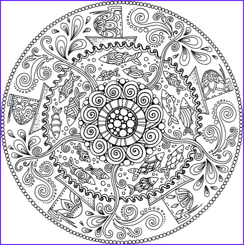 mandala coloring books 20 coloring books with brilliant kaleidoscope designs