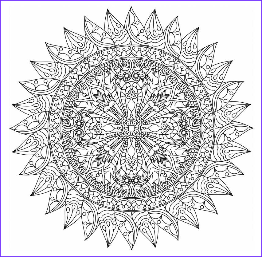 Coloring Designs for Adults Luxury Photos Free Printable Mandala Coloring Pages for Adults