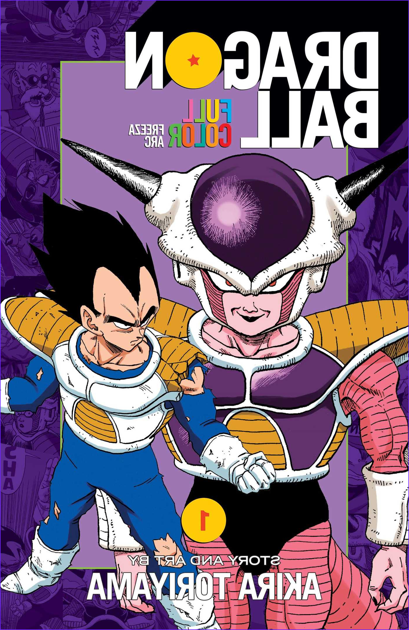 Coloring Dragonball Z Awesome Images Dragon Ball Full Color Freeza Arc Vol 1