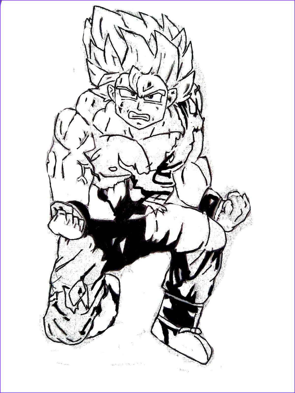 Coloring Dragonball Z New Photos Free Printable Dragon Ball Z Coloring Pages for Kids