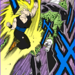 Coloring Dragonballz Beautiful Photos Perfect Cell On Tumblr