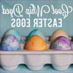 Coloring Easter Eggs With Cool Whip Elegant Collection Cool Whip Dyed Easter Eggs Klein Dot Co
