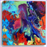 Coloring Epoxy Resin With Acrylic Paint Cool Stock Easy By Jane Biven Is A Kaleidoscope Of Color Original
