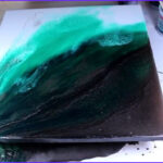 Coloring Epoxy Resin With Acrylic Paint Elegant Images Epoxy Art Painting With Resin 5 Steps With