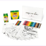 Coloring Escapes Beautiful Photography Color Escapes Adult Coloring Kit Paw Prints Crayola