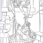 Coloring Escapes Inspirational Gallery Paul Escapes In A Basket Coloring Page