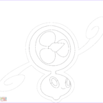 Coloring Fans Best Of Photos Rotom In Fan Form Coloring Page