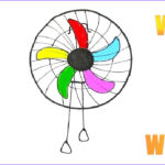 Coloring Fans Inspirational Photos How to Draw and Coloring the Cute Electric Fan