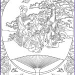 Coloring Fans Inspirational Photos Life In Japan Tradition Japan Adult Coloring Pages