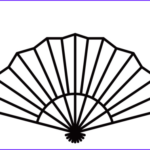 Coloring Fans New Photos Japanese Fan Coloring Page