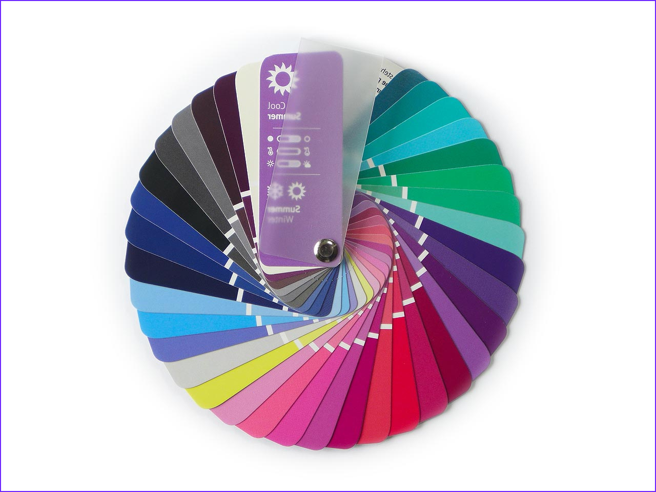 color swatch fan cool summer