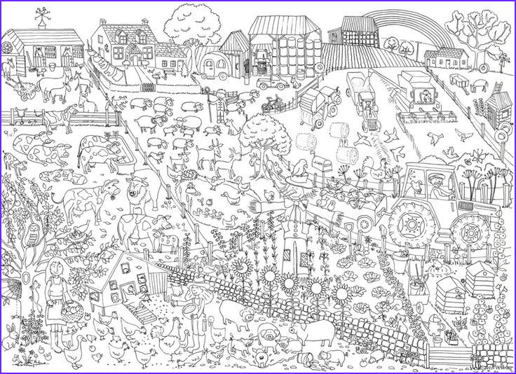 Coloring Farms Beautiful Gallery Farm Coloring Page Poster Coloring Pages