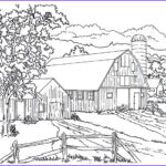 Coloring Farms Beautiful Photos 38 Best Living In The Country Coloring Book Pages Images