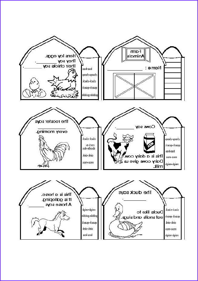 Coloring Farms New Photos Diy Farm Crafts and Activities with 33 Farm Coloring