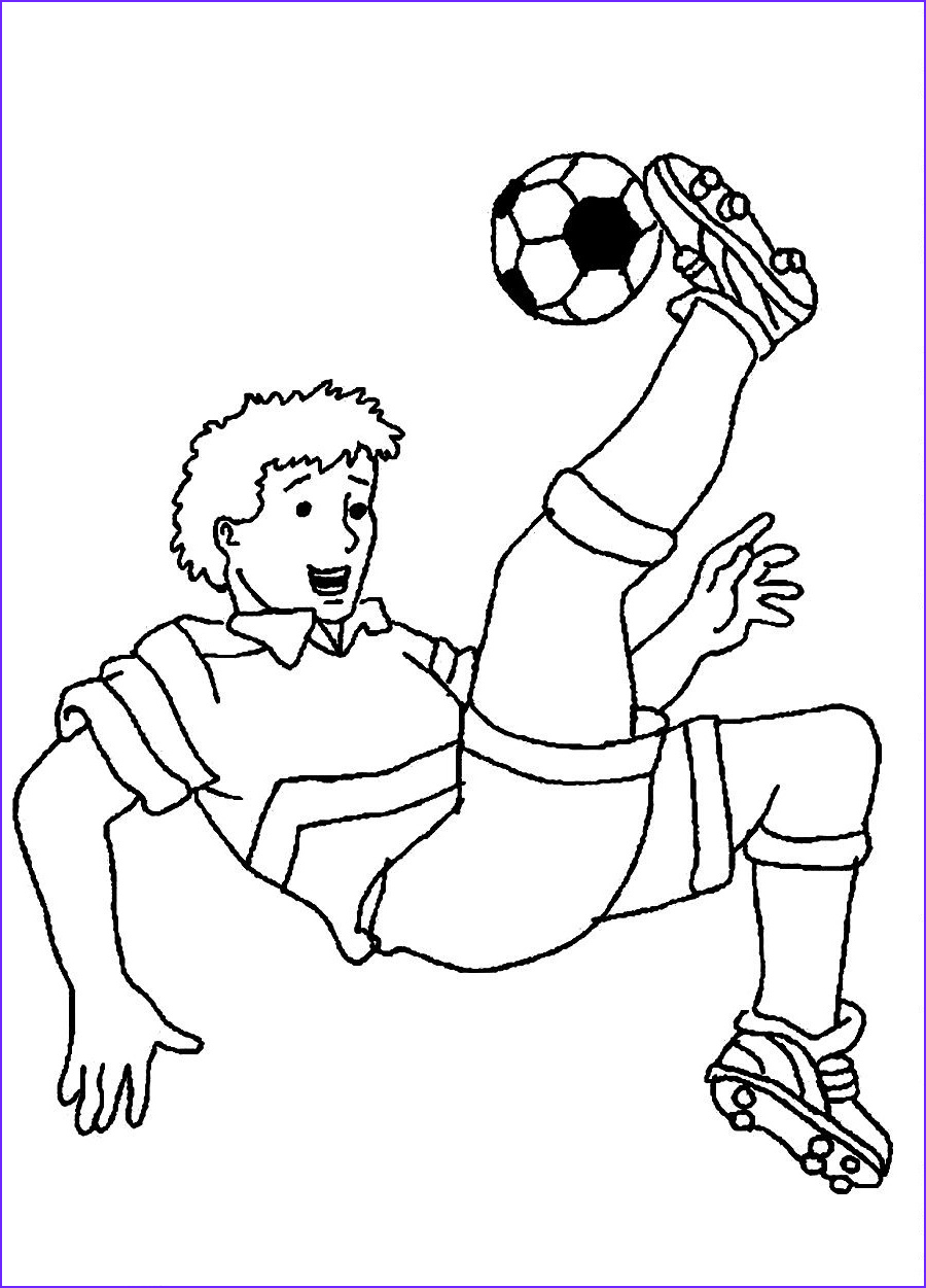Coloring Foot Ball Cool Photos Free Printable Soccer Coloring Pages For Kids