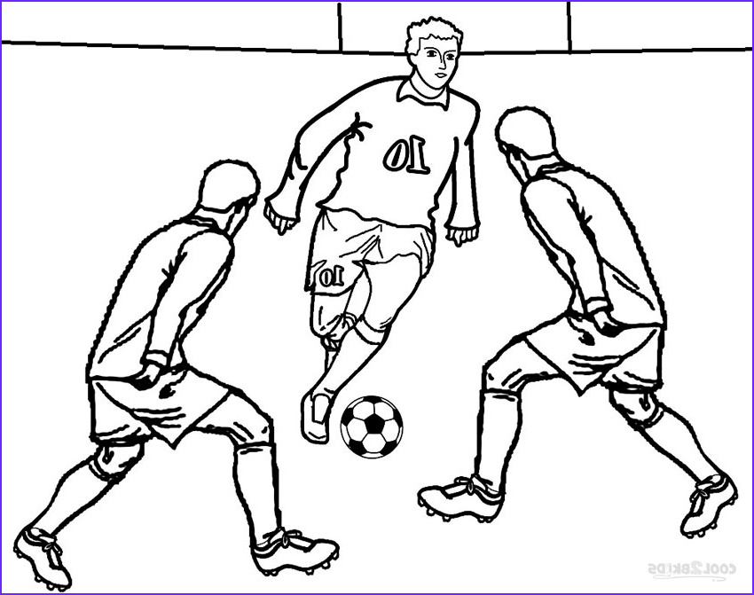 Coloring Foot Ball New Stock Printable Football Player Coloring Pages For Kids