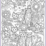 Coloring For Adults Unique Photos Adult Coloring Cats Bestofcoloring