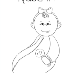 Coloring For Babies Beautiful Image Hi Baby Coloring Page Twisty Noodle