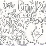 Coloring For Babies Inspirational Photos Baby Coloring Pages Doodle Art Alley