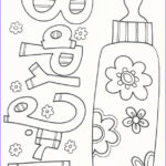 Coloring For Babies Luxury Photos Baby Coloring Pages Doodle Art Alley
