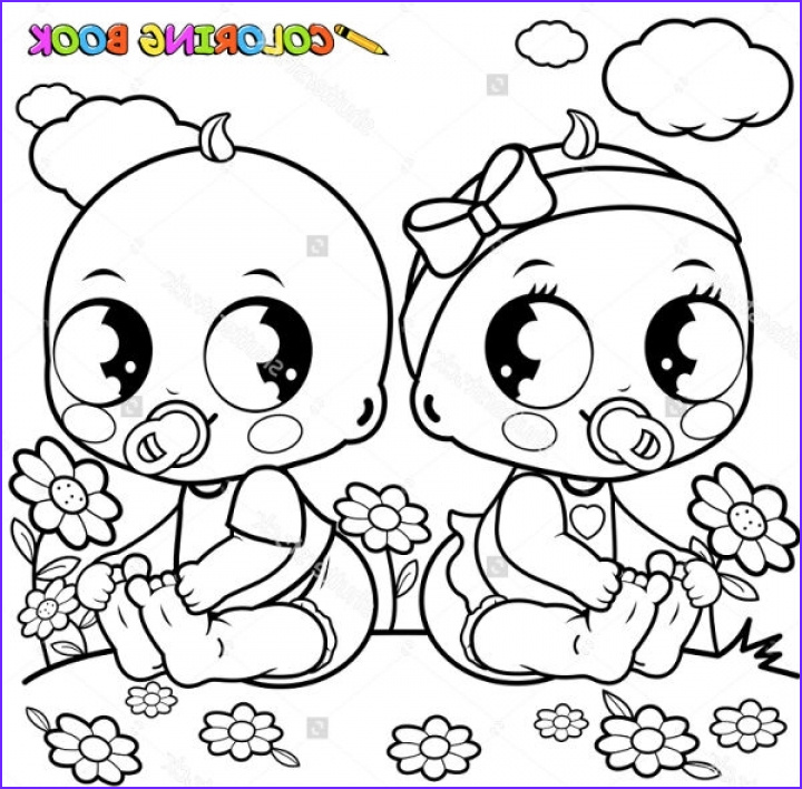 baby coloring pages online twl3n