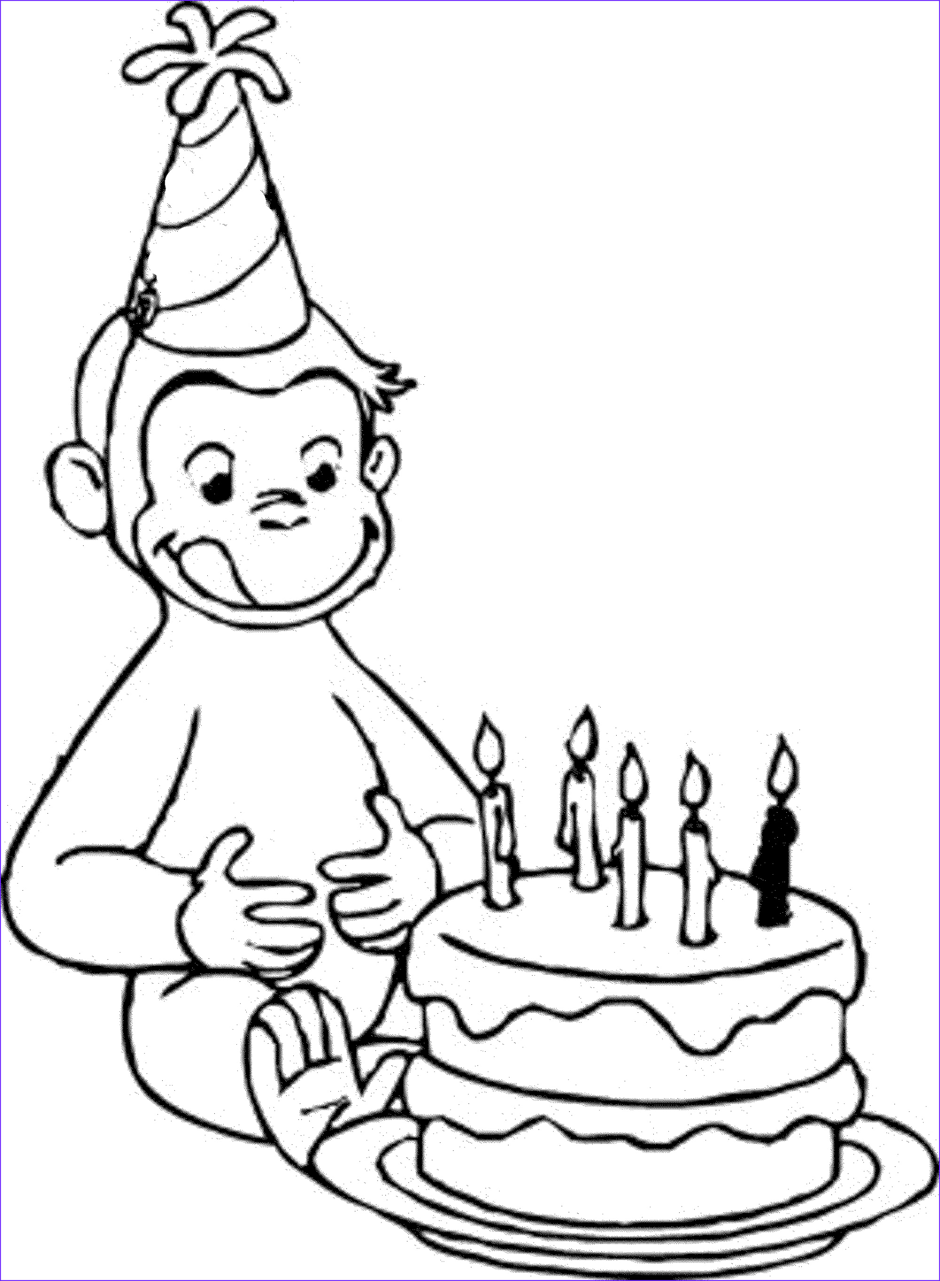 Coloring for Boys Inspirational Image Happy Birthday Coloring Pages