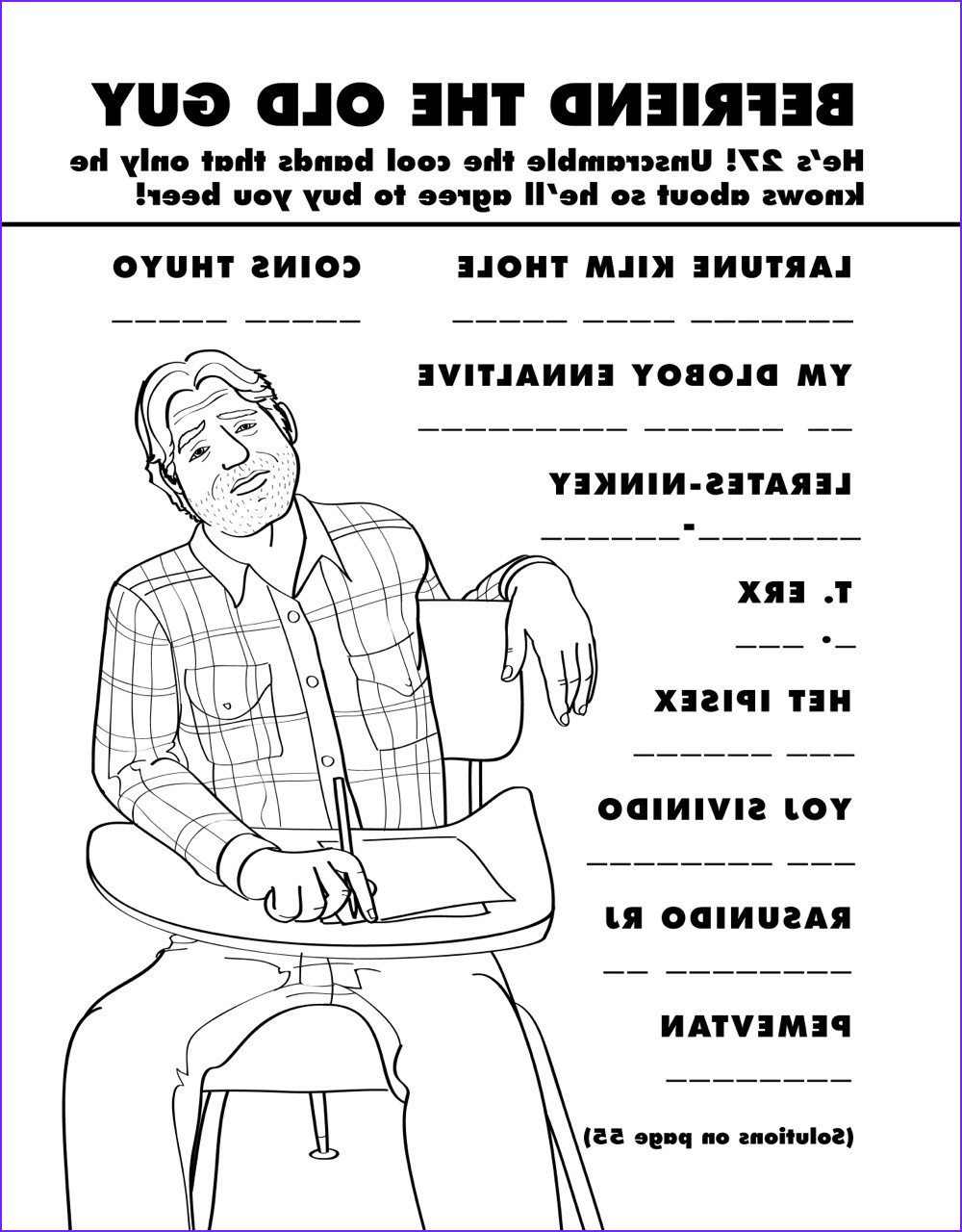 coloring book for grown ups