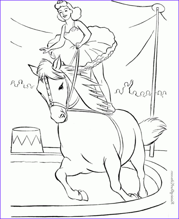 Coloring for Grown Ups Cool Photos Horse In A Circus Show Hard Coloring Pages for Grown Ups