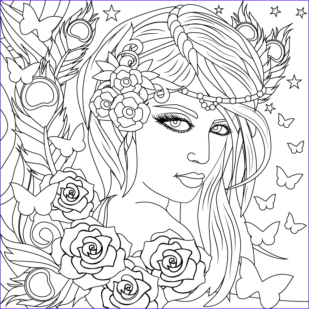 Coloring for Stress Relief Unique Gallery Pin by Debarup Mukherjee On Adult Coloring Book