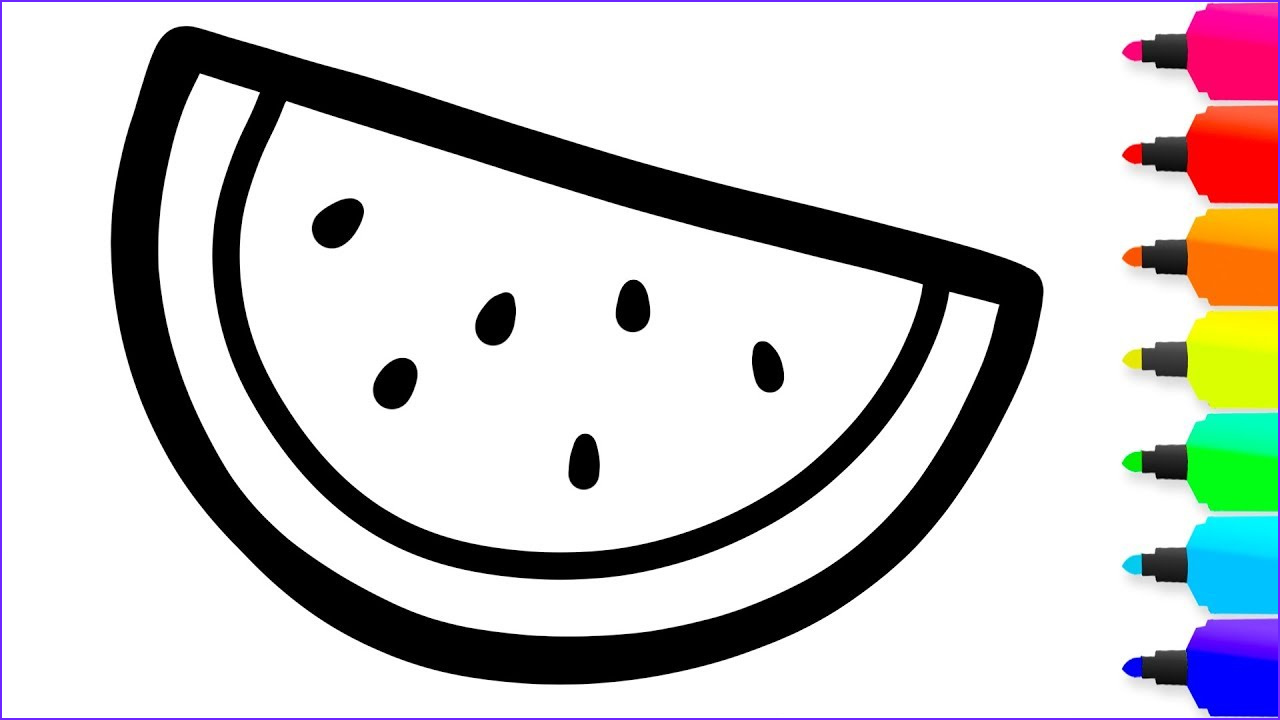 Coloring for toddlers Inspirational Stock Coloring 10 Fruits