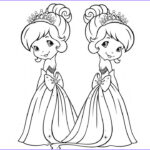 Coloring For Toddlers New Stock Coloring Book Beautiful Princess