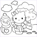 Coloring Hello Kitty Beautiful Photos Hello Kitty Christmas Coloring Pages 1