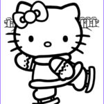 Coloring Hello Kitty Beautiful Photos Hello Kitty Coloring Pages