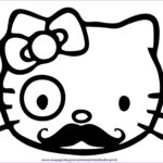 Coloring Hello Kitty Cool Image Hello Kitty Coloring Pages