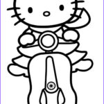 Coloring Hello Kitty Unique Photos Hello Kitty Coloring Pages