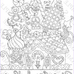 Coloring House Unique Photos 37 Free Gingerbread House Coloring Pages Gingerbread