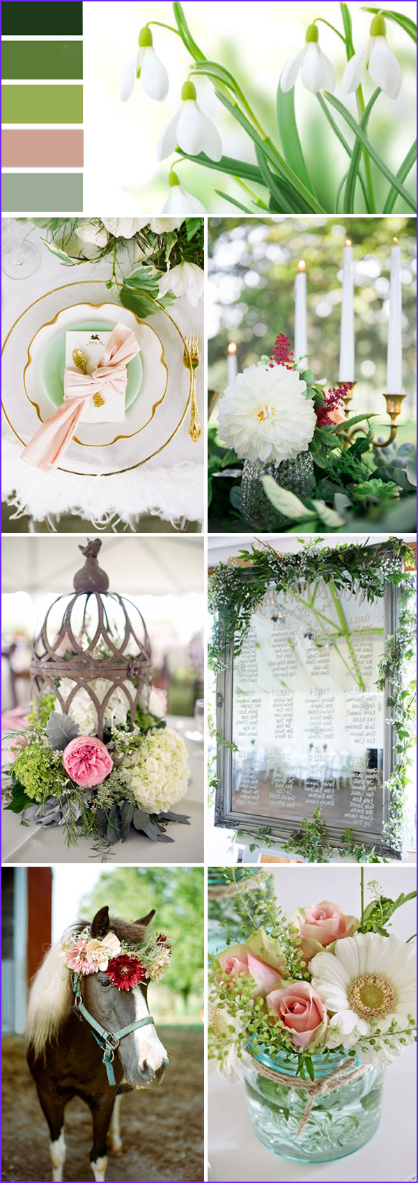 top 10 wedding color ideas for 2017 spring p