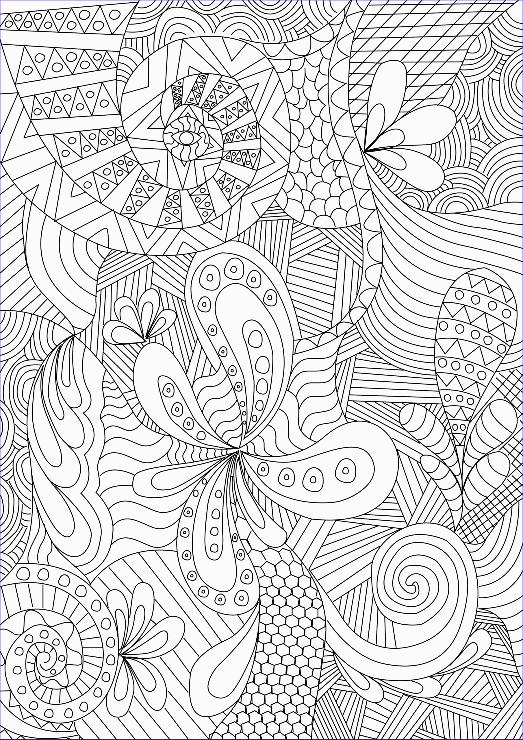 Coloring Images for Adults Awesome Photos Zentangle Colouring Pages In the Playroom