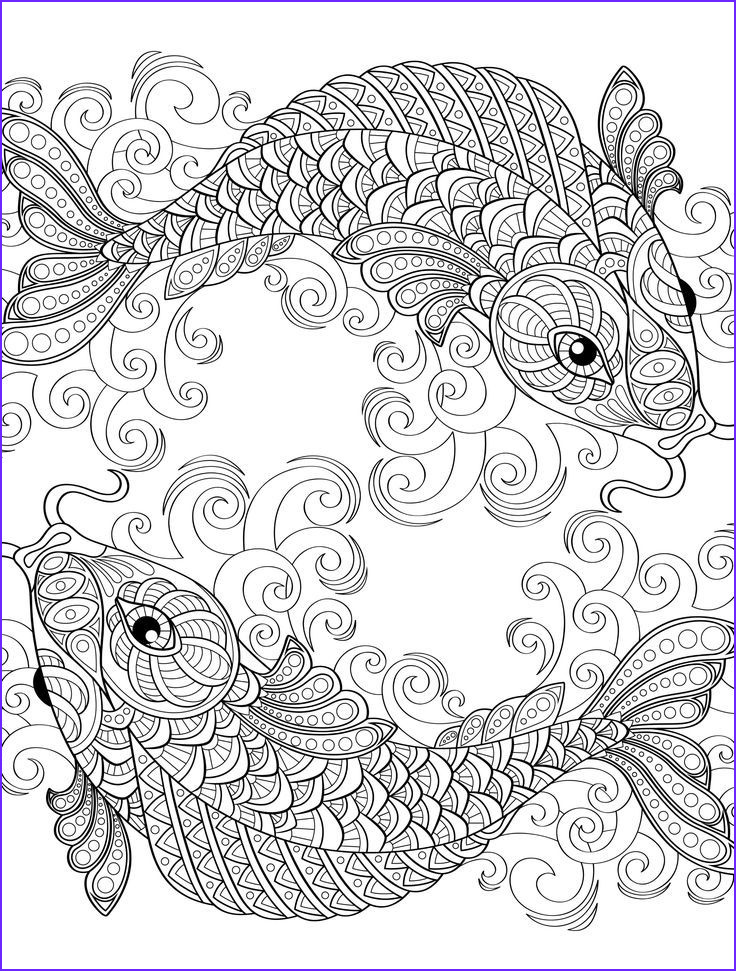 Coloring Images for Adults Beautiful Photos 18 Absurdly Whimsical Adult Coloring Pages