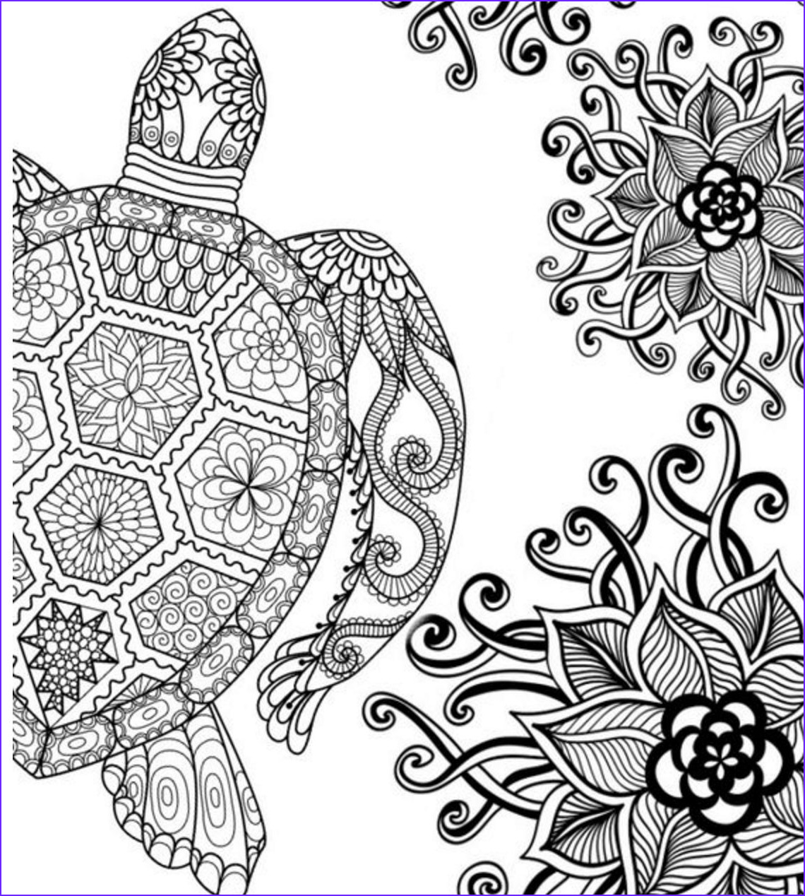 Coloring Images for Adults Beautiful Photos 20 Free Adult Colouring Pages the organised Housewife