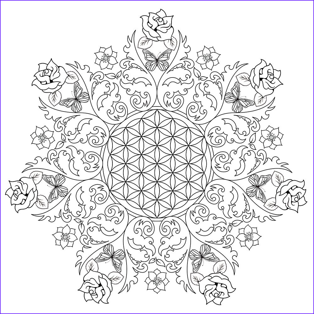 Coloring Images for Adults Cool Photography Flower Coloring Pages for Adults Best Coloring Pages for