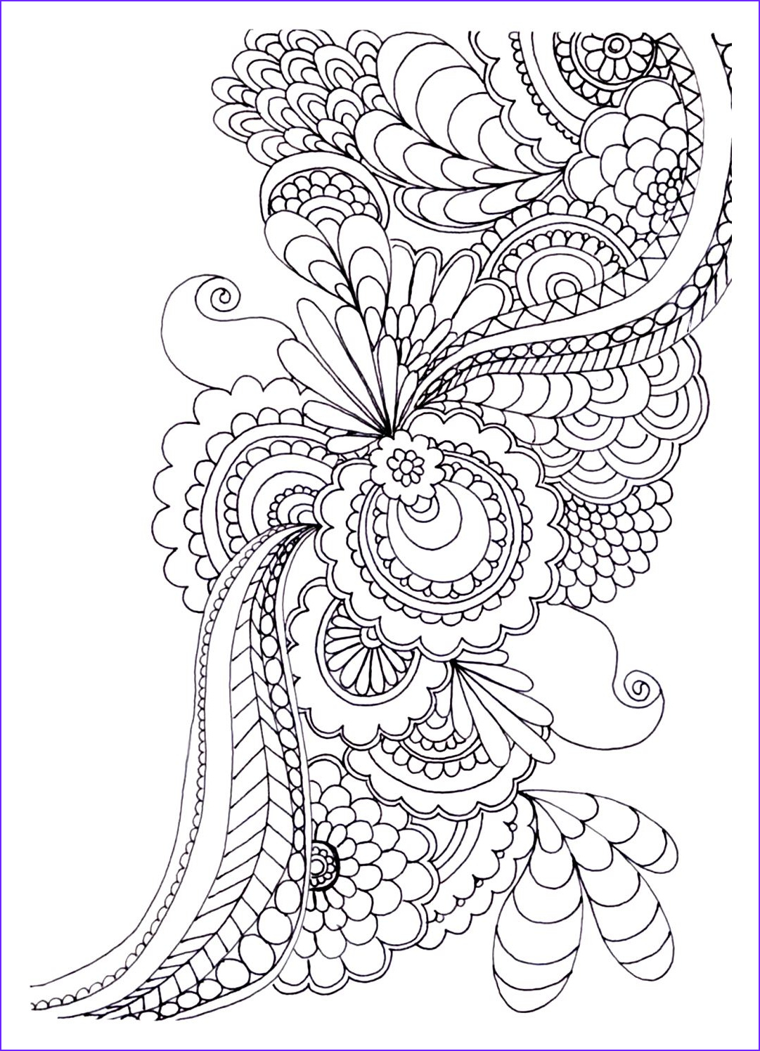 Coloring Images for Adults New Image 20 Free Adult Colouring Pages the organised Housewife