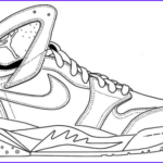 Coloring Jordan Shoes Inspirational Stock Nike Shoes Coloring And Sketch Drawing Pages Coloring Pages